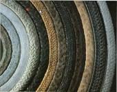 編織盤根的材料與方式